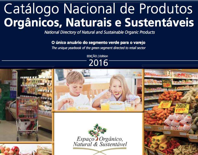 Catálogo de orgânicos reúne empresas brasileiras de alimentos sustentáveis