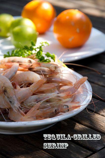 Tequila Grilled Shrimps - Mi sa che le ho lasciate troppo a marinare...sapevano solo di tequila!