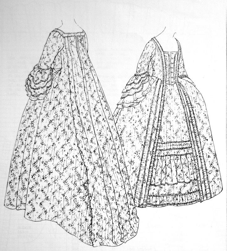 Robe A La Francaise: Isis' Wardrobe: May 2011: Robe A La Francaise From Janet