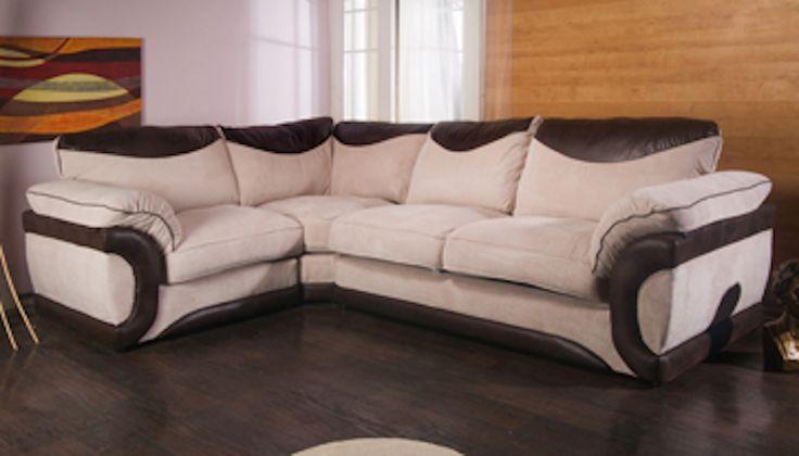 Second Hand Brown Leather Corner Sofa