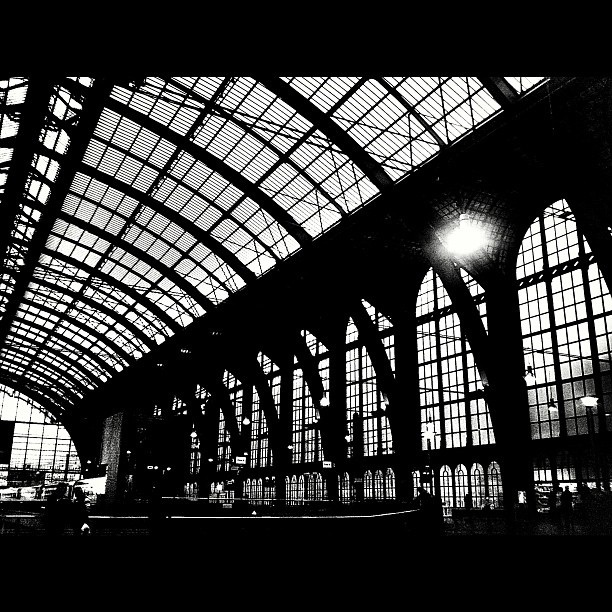 Train Station - Antwerp, Belgium. find your inspiration visiting www.i-mesh.eu and click I-LIKE on FACEBOOK: https://www.facebook.com/pages/I-MESH/633220033370693