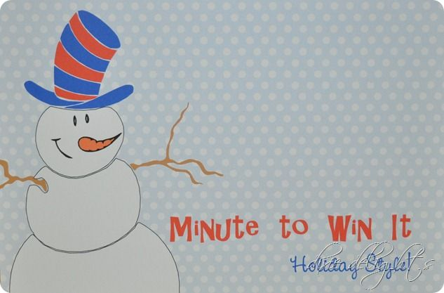 Fun-filled winter party theme with 6 stations of games and snacks. Adorable free printables are included to turn your room into a winter wonderland!