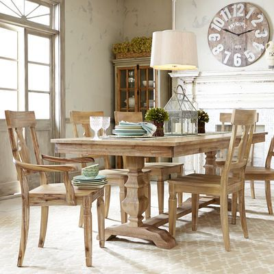 Traditional Meets Subtle Rustic For Casual Or Formal Dining Crafted With Hardwoods Our Handsome
