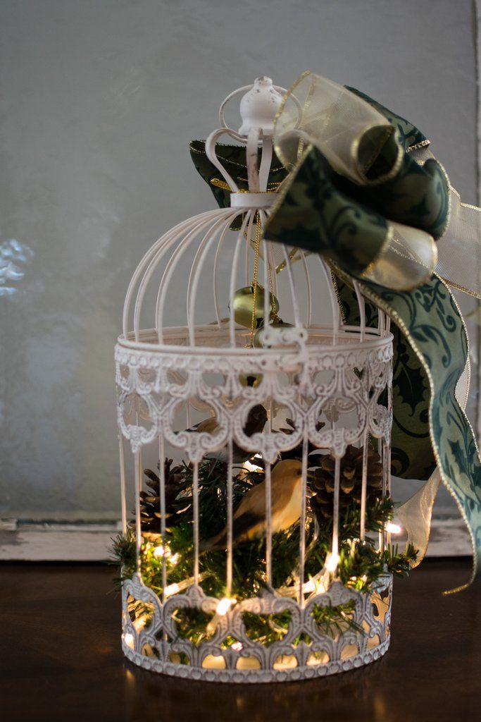 Holiday Bird Cage