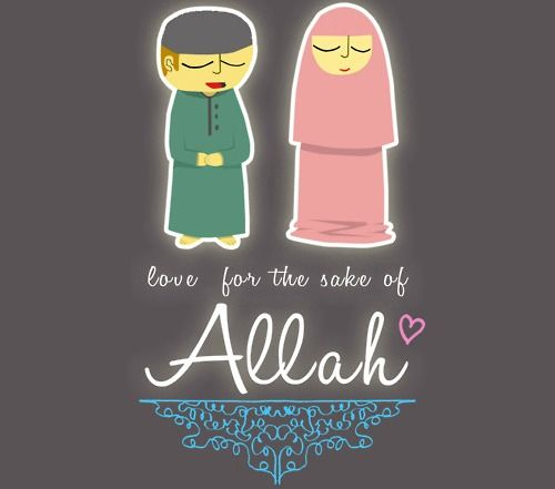 #Love for the sake of #Allah