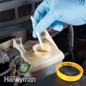 Protect your car's brake lines from rust - check the brake fluid to make sure the corrosion inhibitor hasn't worn out.