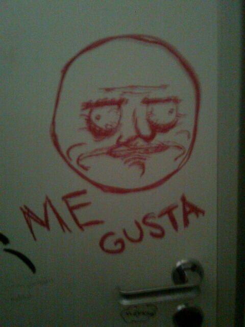 15 hilarious works of bathroom graffiti