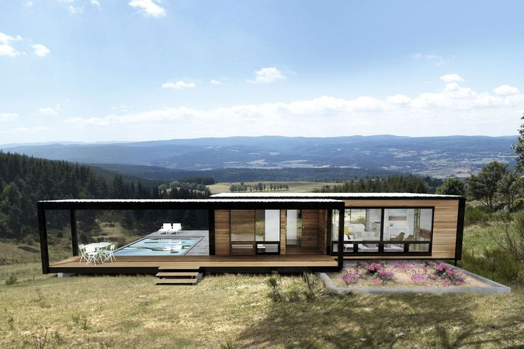 Backyard Cottage Prefab Design House Plan Affordable: Connect-prefabricated-homes-5