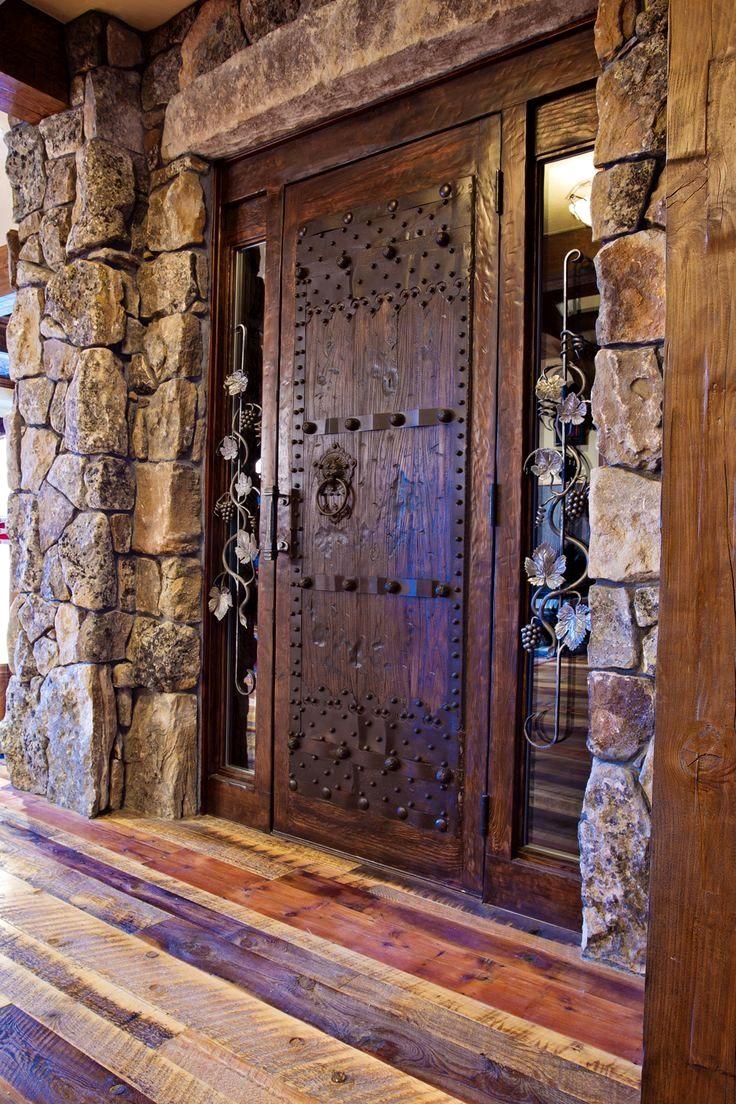 Beautiful front door sugar bowl custom residence frontier builders