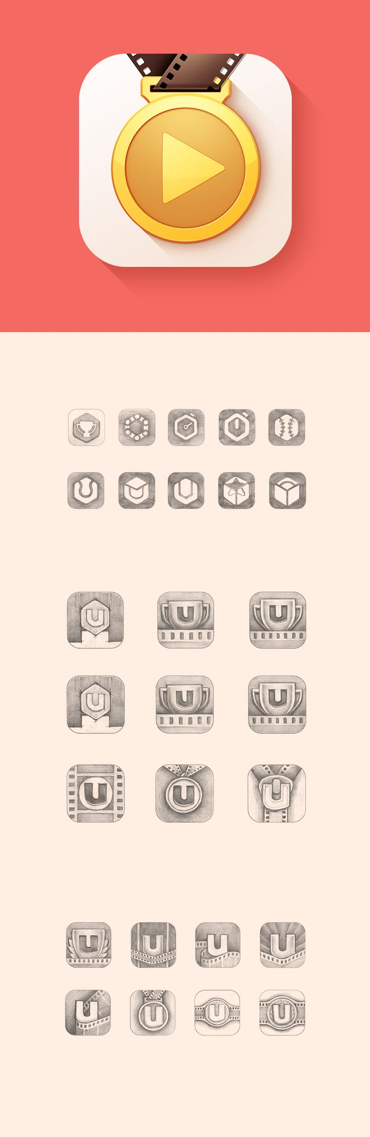 Dribbble social app ui design jpg by ramotion - Coaching App Icon Design