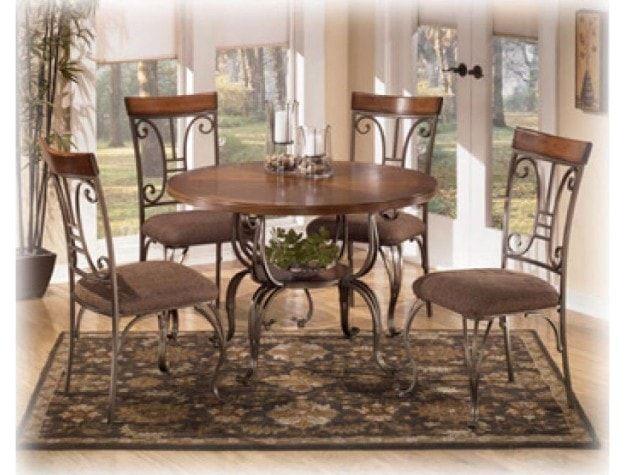 Dining Room Table Plentywood Brown Bellagio Furniture Store Houston Texas  Www.BellagioFurniture.com Complete