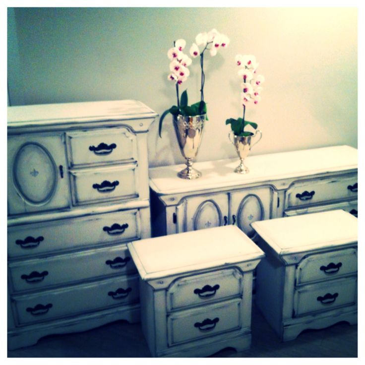 SHABBY CHIC Bedroom Set SOLD Made By Madrigal