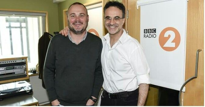 Noel Fitzpatrick with Al Murray