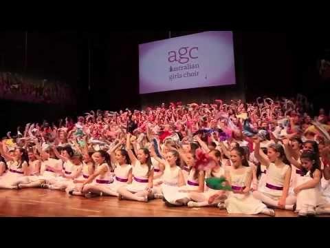 Australian Girls Choir 30th Anniversary - YouTube
