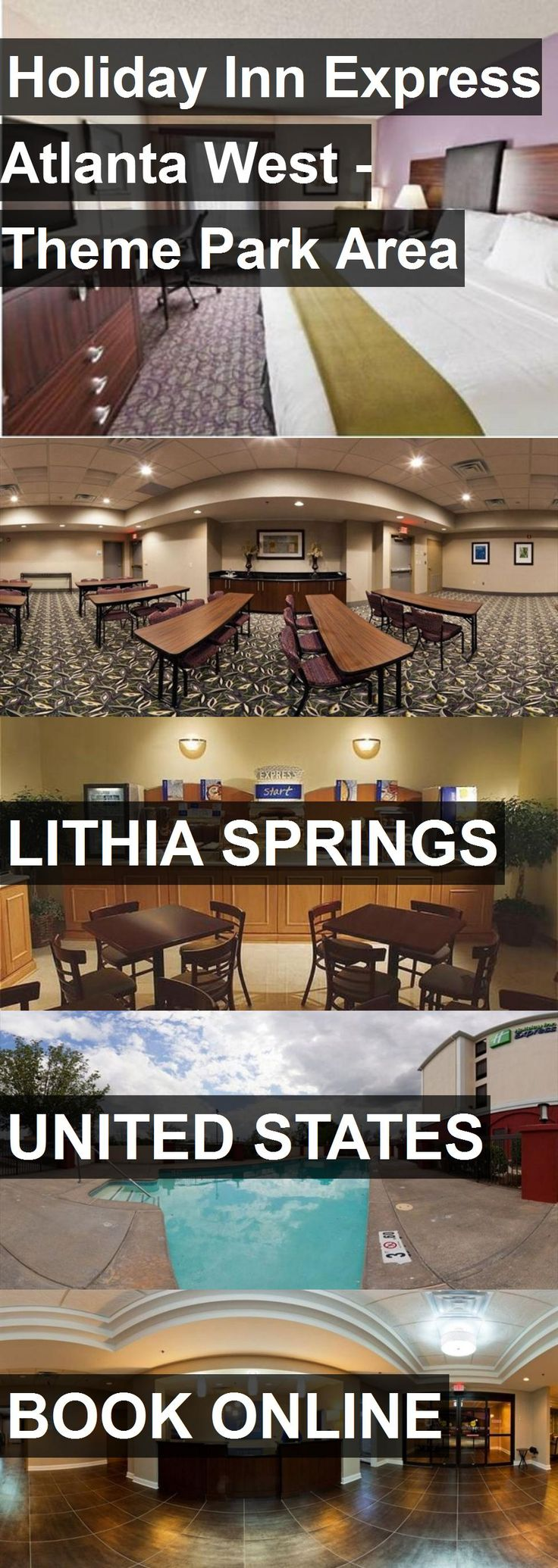 Hotel Holiday Inn Express Atlanta West - Theme Park Area in Lithia Springs, United States. For more information, photos, reviews and best prices please follow the link. #UnitedStates #LithiaSprings #travel #vacation #hotel