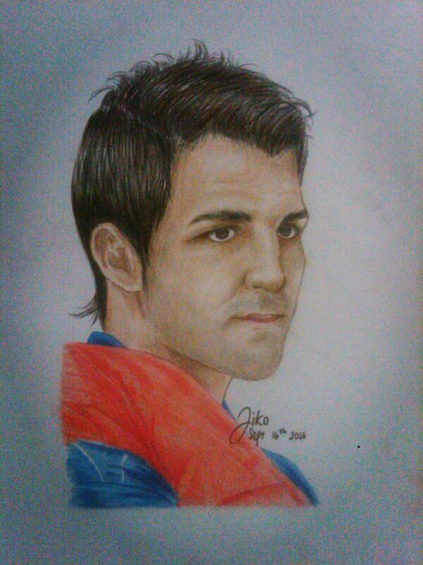 FCBarcelona's Cesc Fabregas