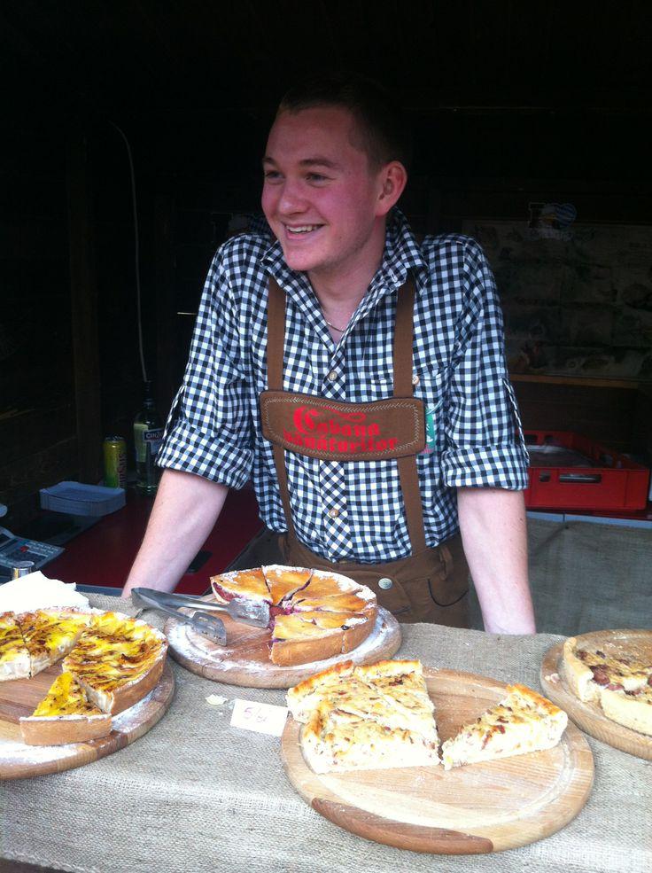 Our friend chef @dragosbercea from Cabana Vanatorilor Predeal at Oktoberfest Brasov 2013 @mauvert_blog