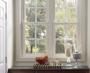 Retrofit windows from Milgard beautify and increase the curb appeal of your home, but even more impressive are the energy savings. Free in-home estimates are available.  {Valencia Custom Shower Doors 298-0261}