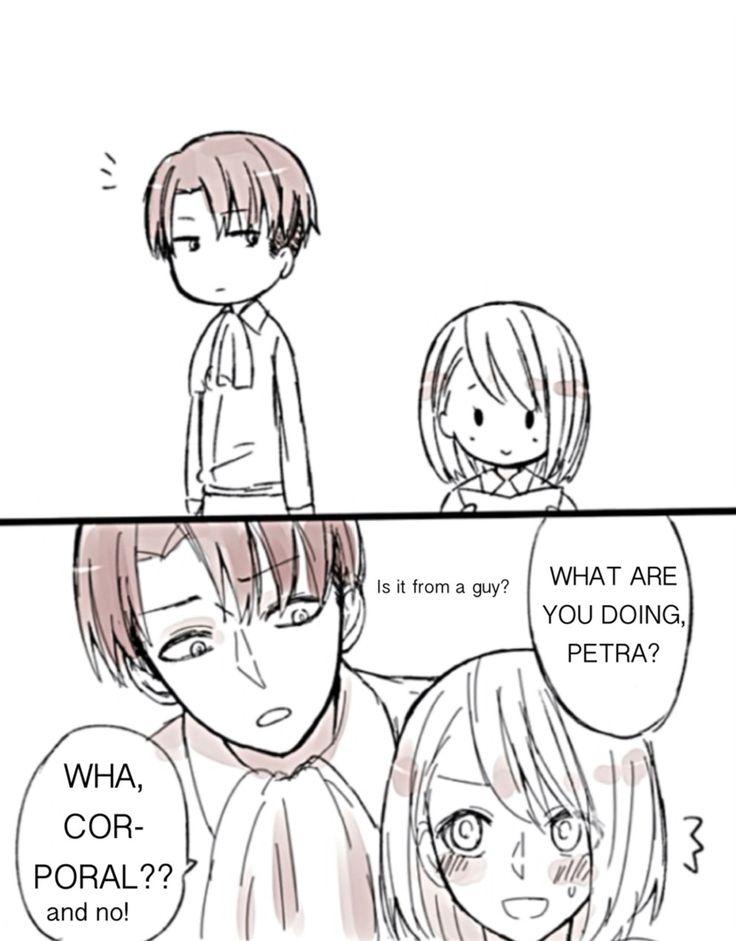 petra x rivaille fangirl Levi x Petra Pinterest Petra