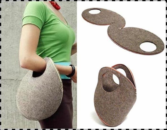 make handmade - handmade - handicraft: bag
