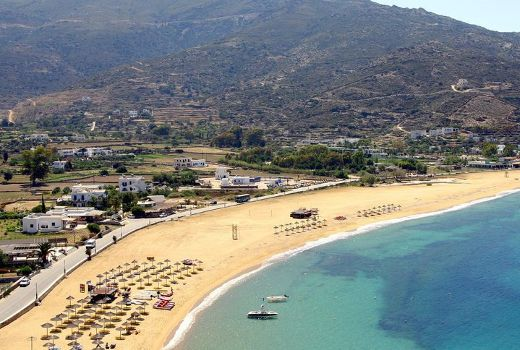 Mylopotas beach, Ios, Greece