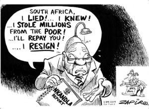Jacob Zuma and the Nkandla report