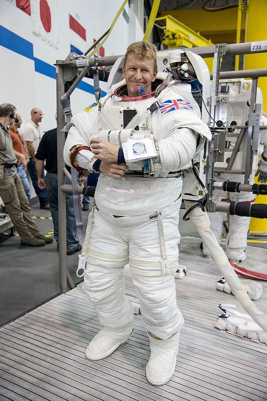 Tim Peake - spacewalk training