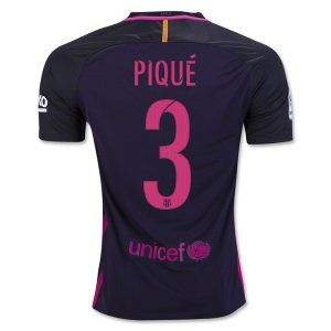 16-17 Football Shirt Barcelona Away Cheap #3 PIQUE Replica Jersey [G95]