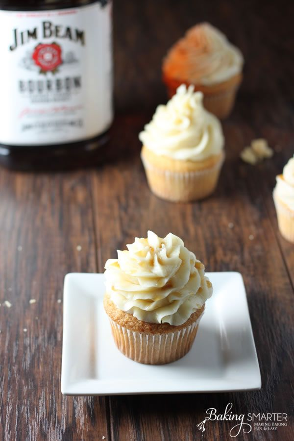 Jim Beam Bourbon Cupcakes
