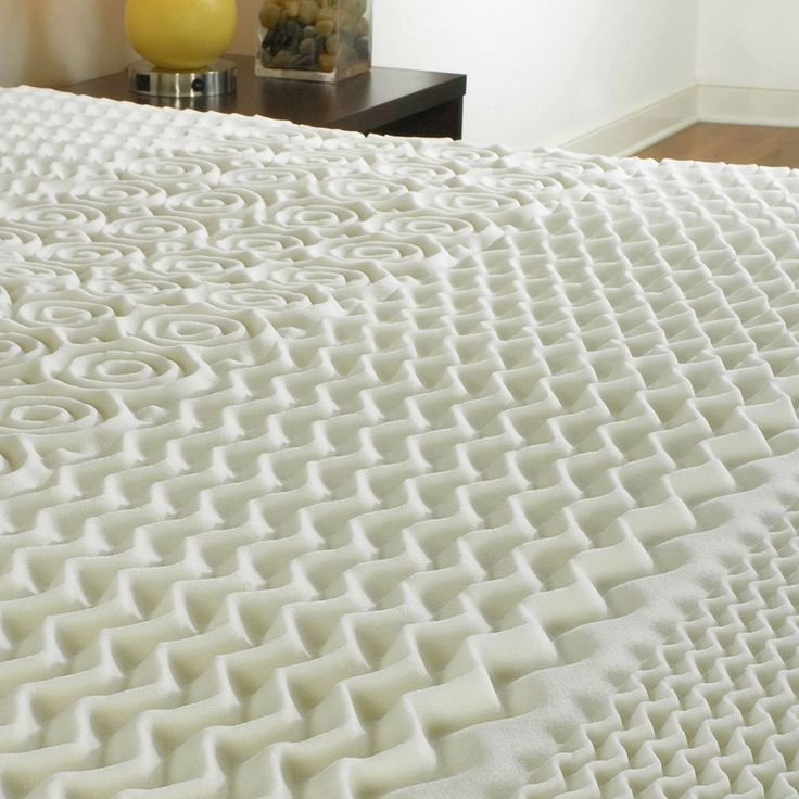 king size 15inch thick 3lb memory foam mattress topper with zone support