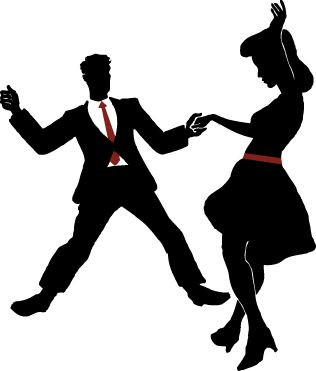 swing dancers silhouette - Google Search