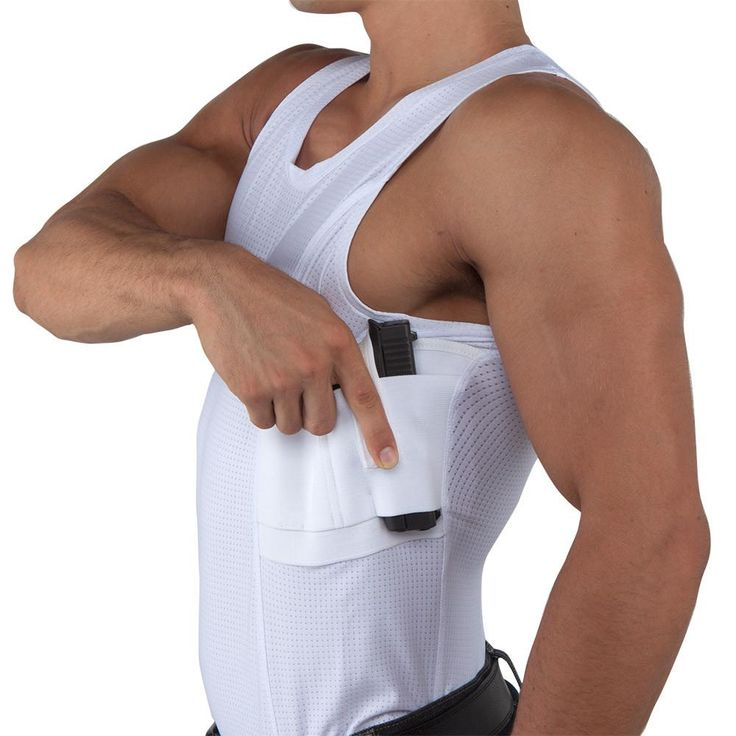 Men's Coolux Concealed Carry Tank Top - Undertech Undercover