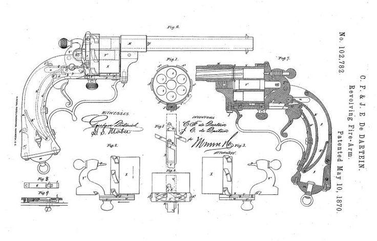 Револьвер Дартейна Зиг-Заг (Revolver Dartein Zig-Zag Style) » Военное обозрение