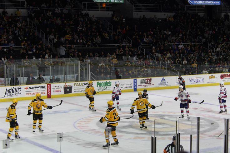 Friday night at the Ice Hockey
