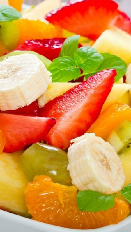 easy healthy fruit salad ingredients for healthy fruit smoothies
