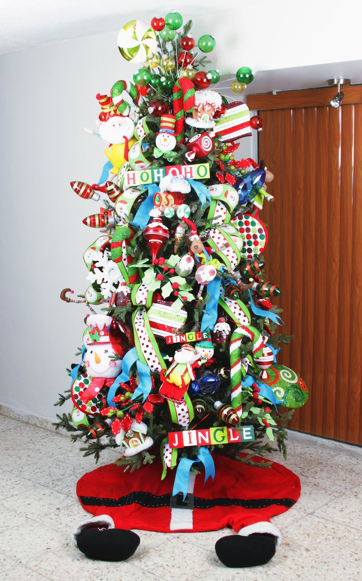 Childrens Christmas Tree. By Jessica Pascal