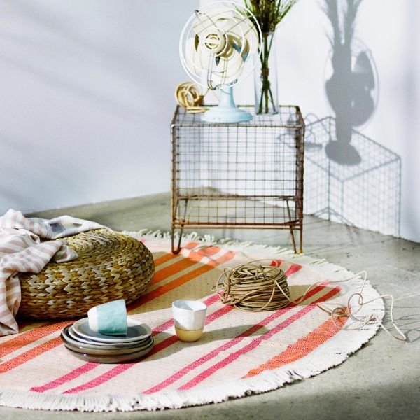 Our Roundie Rug is the perfect accessory all year round. In summer grab a book, a picnic basket and a loved one and laze out all afternoon on our soft and
