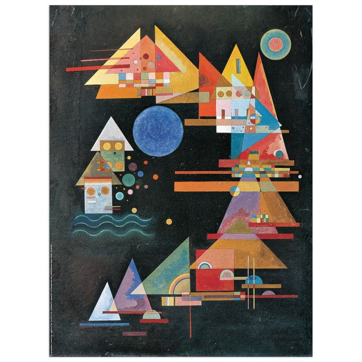 KANDINSKY - Picchi in arco 60x80 cm #artprints #interior #design #art #print #iloveart #followart #artist #fineart #artwit  Scopri Descrizione e Prezzo http://www.artopweb.com/autori/wassily-kandinsky%20/EC16079