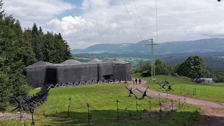 Dělostřelecká pevnost Stachelberg a rozhledna Eliška