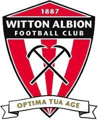 1887, Witton Albion F.C. (England) #WittonAlbionFC #England #UnitedKingdom (L16482)