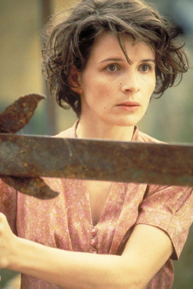 Juliette Binoche...that face innocence, sadness and hope all rolled into one...