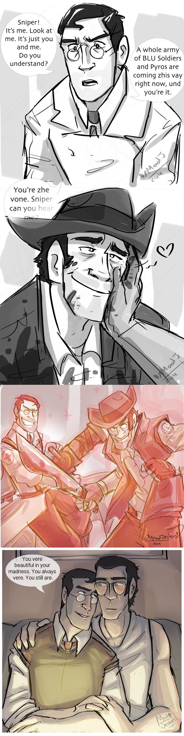 TF2- Medic x Sniper by MadJesters1 on DeviantArt