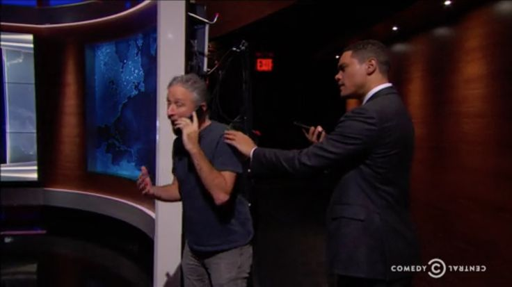 "Jon Stewart returned to The Daily Show Thursday night as ""Bernie Bernstein,"" the fake Washington Post reporter behind"