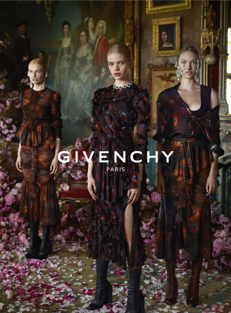 Candice Swanepoel, Aliz Menyhert, Stella Lucia by Mert & Marcus for Givenchy F/W 2015-2016