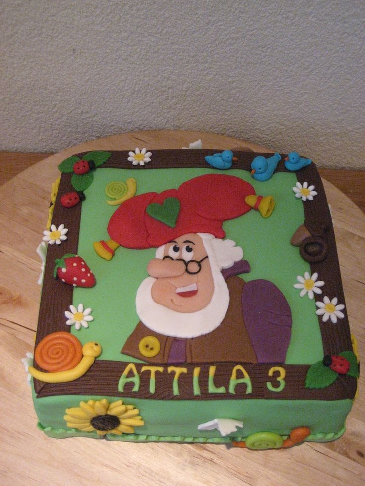 kabouter plop taart - Millie's Cake