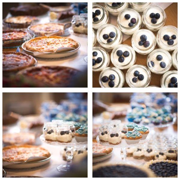 Valmistumisjuhlien kattaus 27.5.2017. Suolaisia piirakoita; kakkuja, muffinsseja. Kuvat ©Emmi Kiesvaara