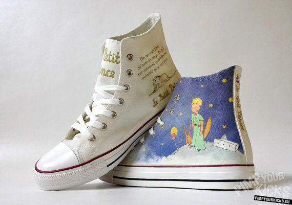 The Little Prince Converse decoration by PimpYourKicks
