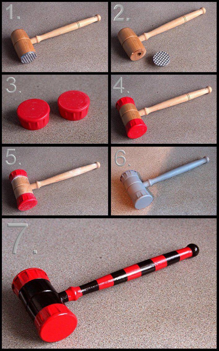 Harley Quinn Mini Hammer build by Joker-laugh on DeviantArt