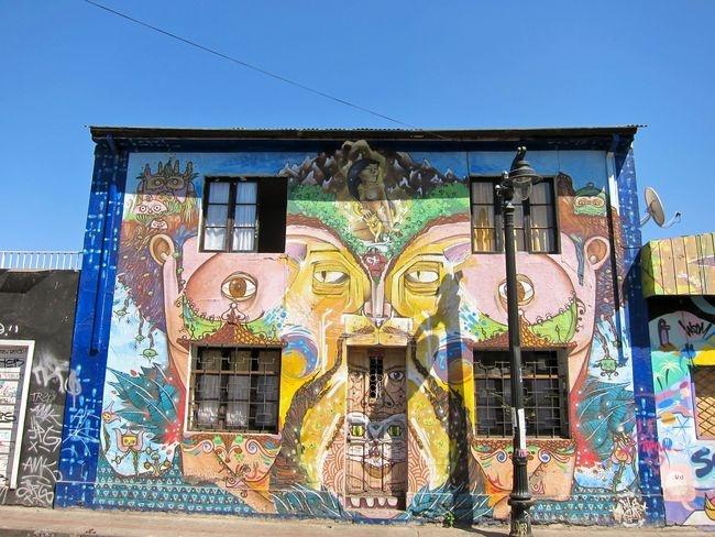 """""""Santiago Street Art"""" - AFAR 'CATCH!'"""