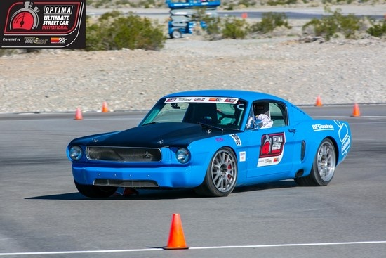 Ron Schwarz U0026 39 S 1966 Ford Mustang  Fastback On The Autocross At The 2012  Ousci
